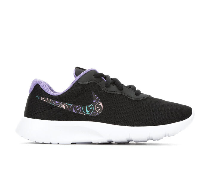 Girls' Nike Little Kid Tanjun Print Have A Nice Day Running Shoes