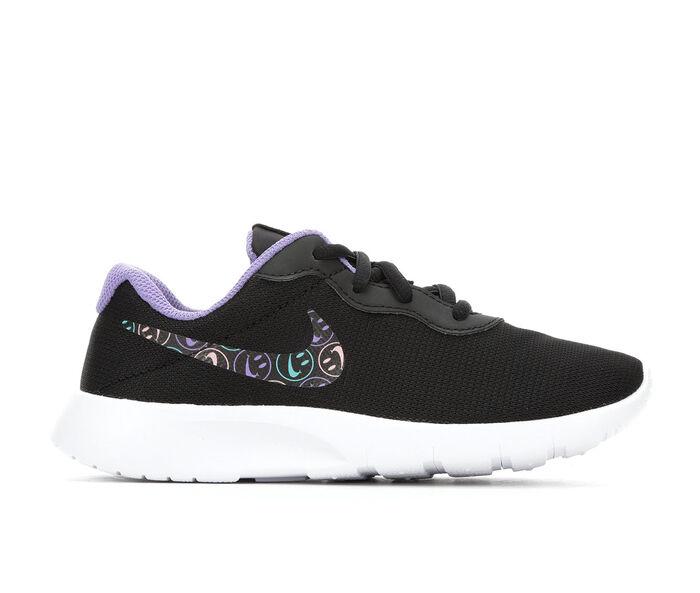 Girls' Nike Little Kid Tanjun Print Have A Nice Day Running Shoes