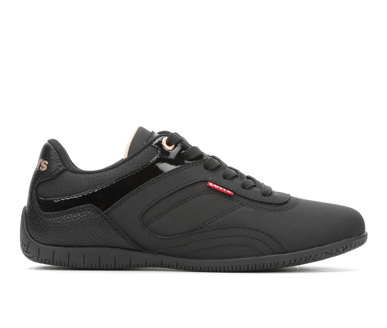 Women's Levis Stella UL Sneakers Blk Mono/Blush
