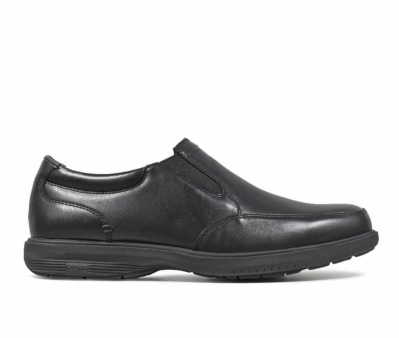 Purchase Price Men's Nunn Bush Myles Street Moc Toe Slip-On Slip-On Shoes Black