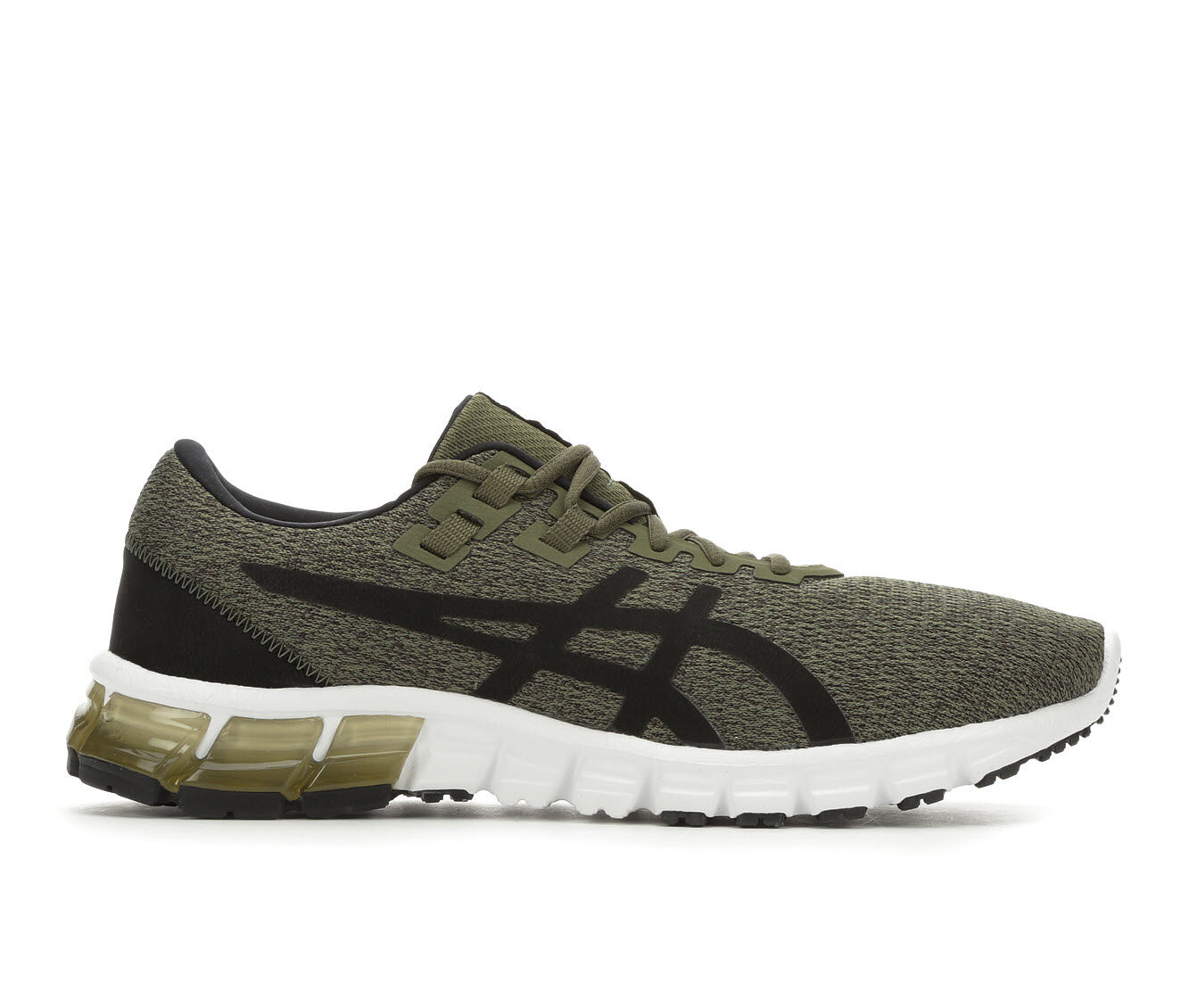 Exceptional quality Men's ASICS Gel Quantum 90 Running Shoes Olv/Blk/Wht
