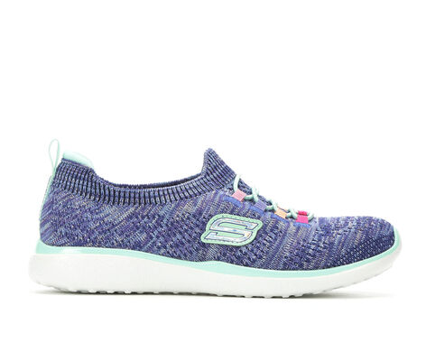 Girls' Skechers Microburst 10.5-6 Slip-On Sneakers