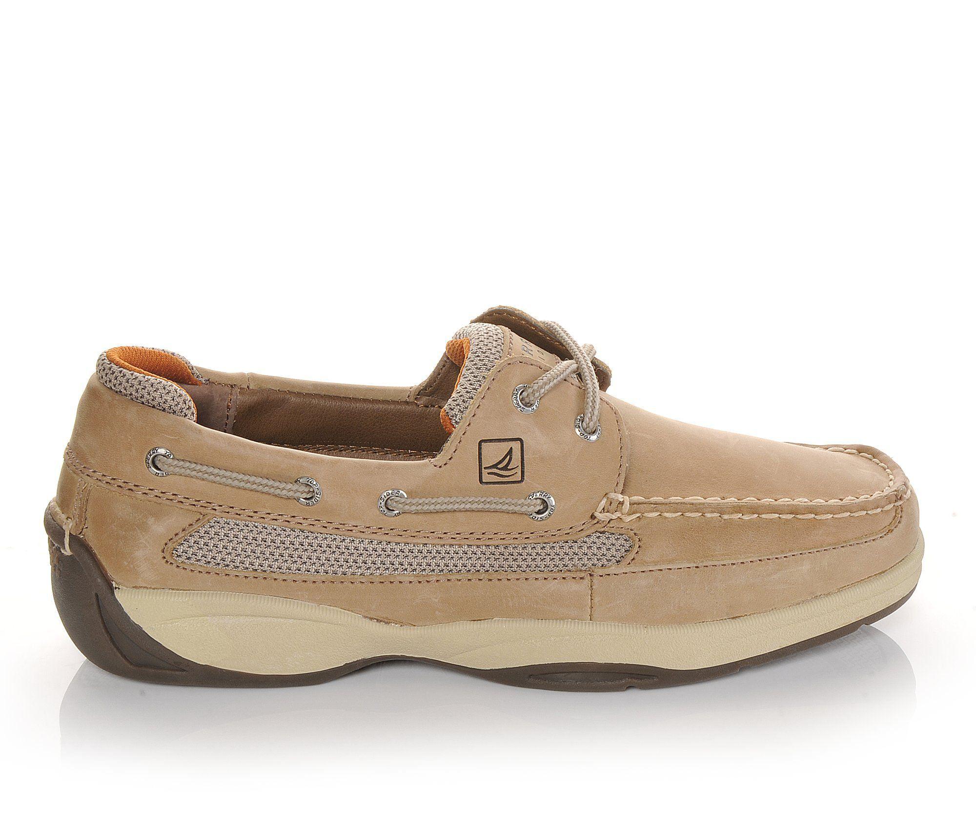 Wholesale UK Men's Sperry Lanyard Boat Shoes Linen