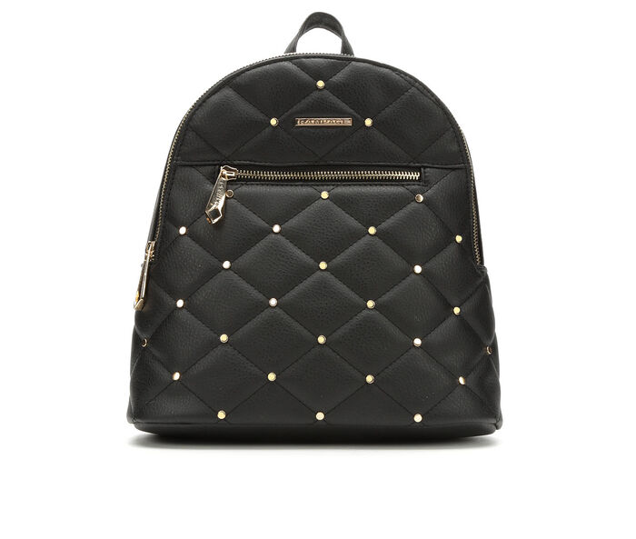 Rampage Studded Quilt Backpack Handbag
