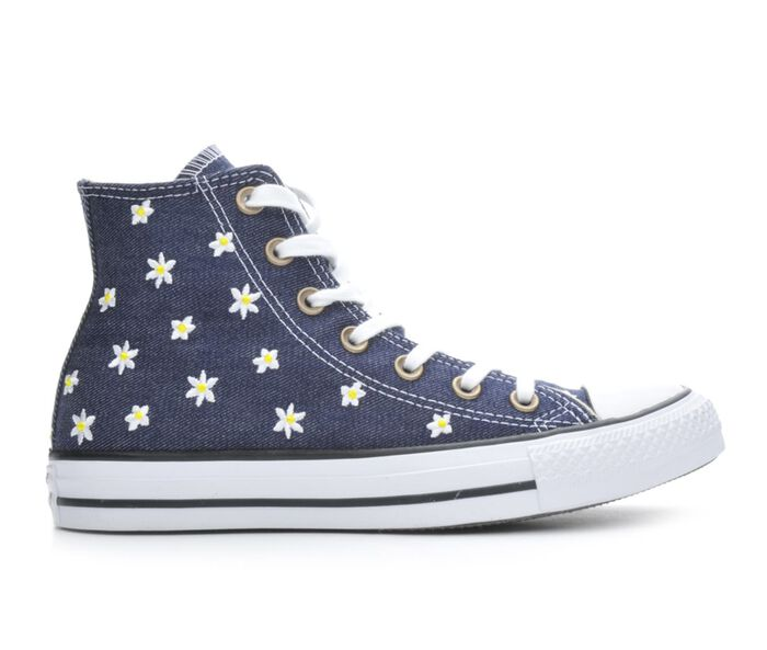 Women's Converse Chuck Taylor All Star Denim Floral Hi Sneakers