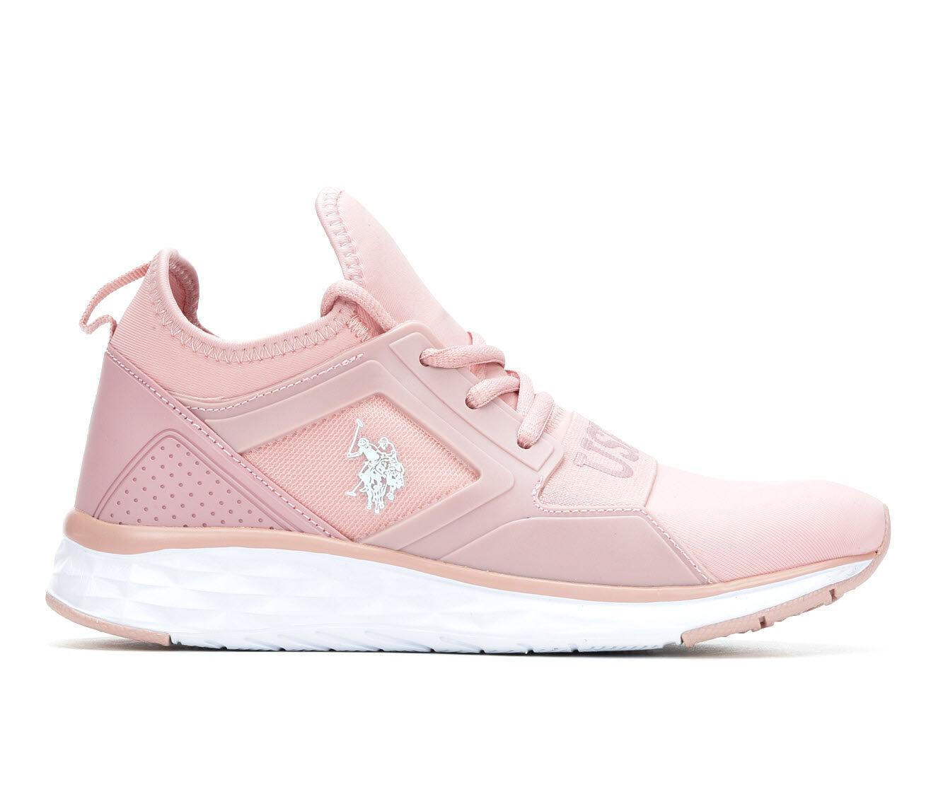 Women's US Polo Assn Jace Sneakers Blush/White