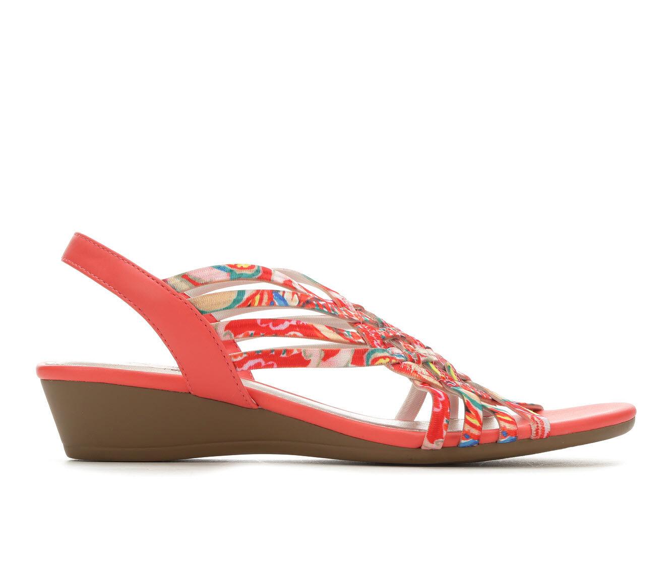 Women's Impo Rosia Strappy Sandals Coral Multi