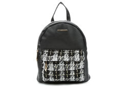 Rampage Plaid Midi Backpack Handbag