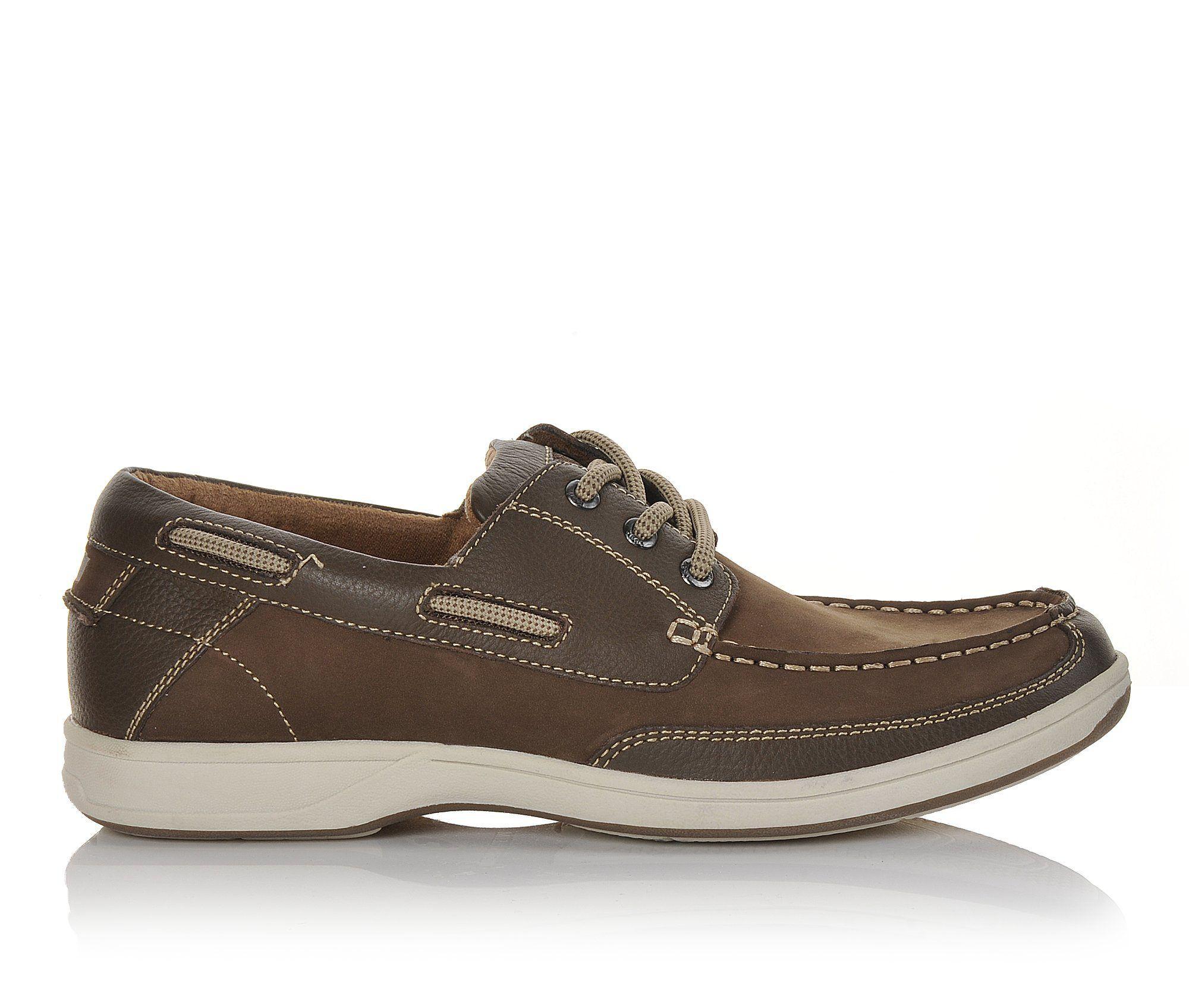 get classic Men's Florsheim Lakeside Oxford Boat Shoes Brown Nubuck