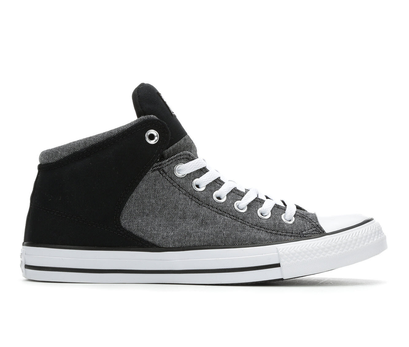 Men's Converse CTAS Hi St Hi Washed Ashore Sneakers Blk/Wht/Blk