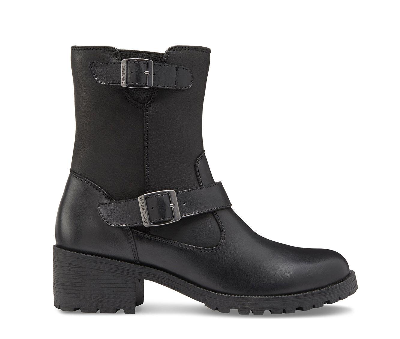 Exclusive Styles Women's Eastland Belmont Booties Black