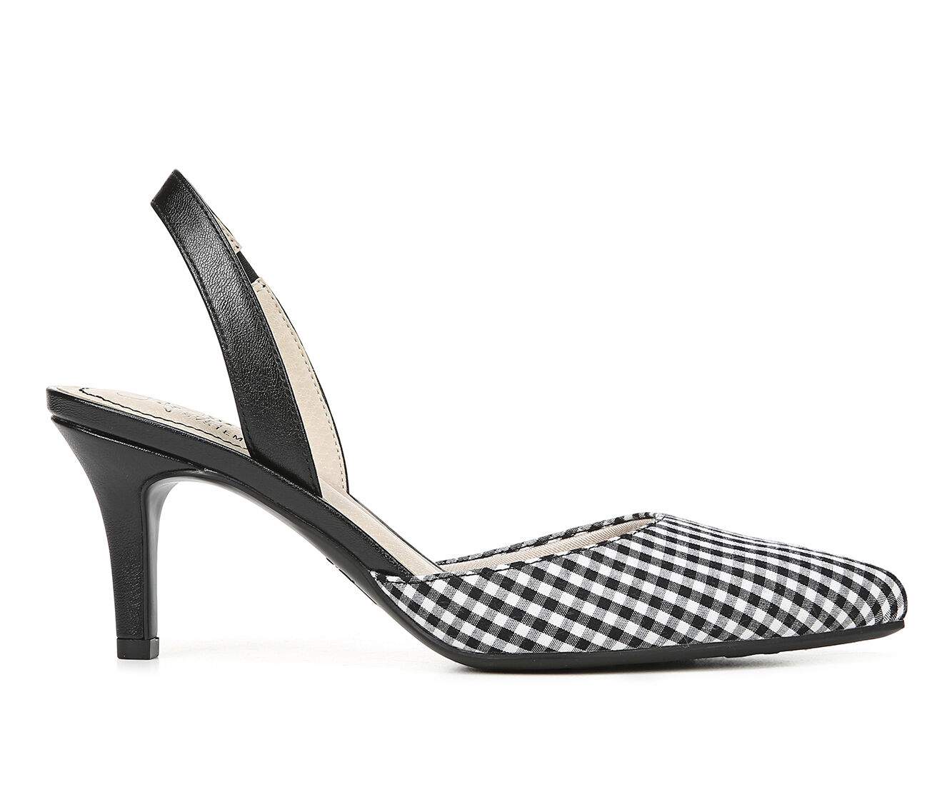 The Lowest Price Women's LifeStride Shane Pumps Blk/Wht Gingham