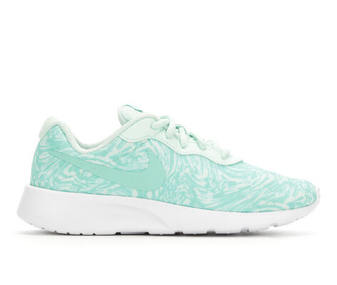 Girls' Nike Tanjun Print 3.5-7 Sneakers