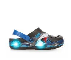Boys' Crocs Little Kid Funlab Sharks Lights Light-Up Clogs