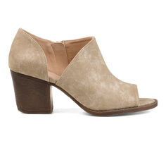 Women's Journee Collection Hartli Peep Toe Booties