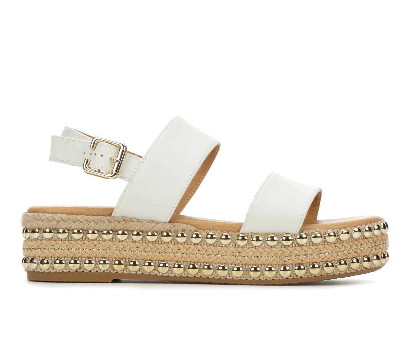 Women's Seven Dials Berenice Flatform Sandals White