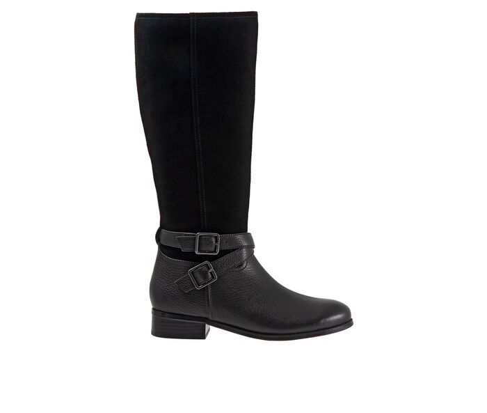 Women's Trotters Larkin Wide Calf Knee High Boots