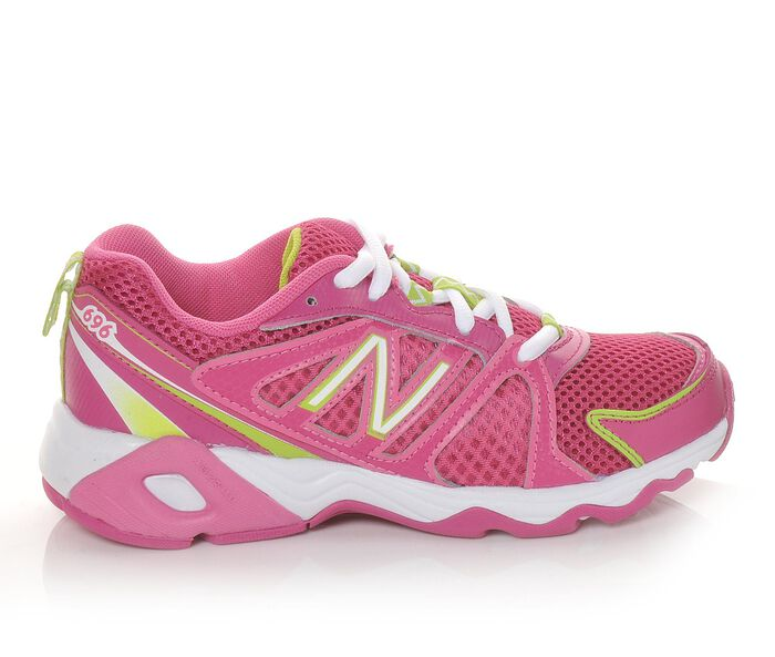 Girls' New Balance KJ696PGY 10.5-5 Running Shoes