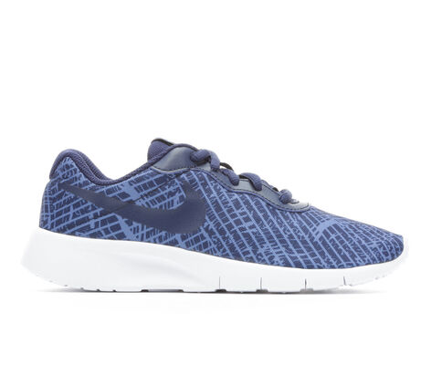 Boys' Nike Tanjun Print 3.5-7 Running Shoes