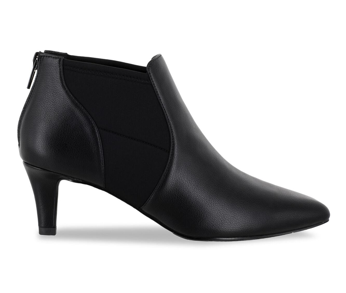 Women's Easy Street Saint Booties Black