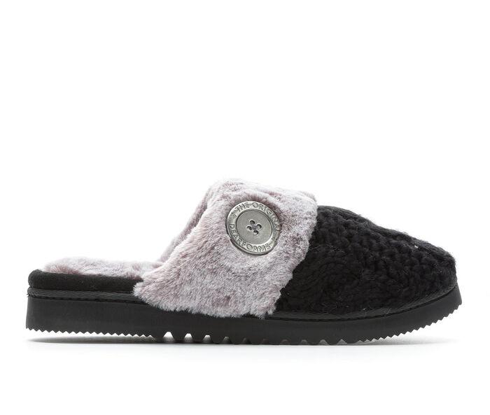 Women's Dearfoams Cable Knit Closed Toe Scuff w/Plush