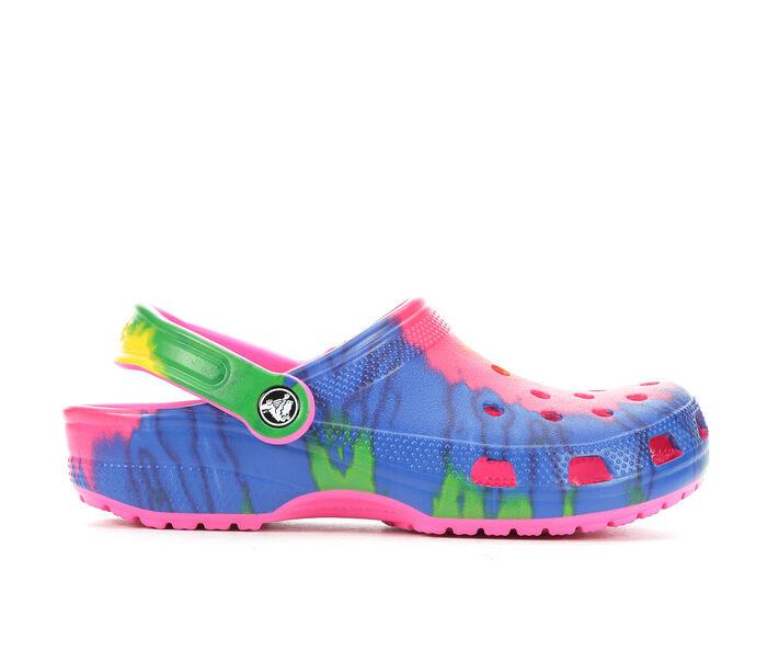 Women's Crocs Classic Tie Dye Clogs