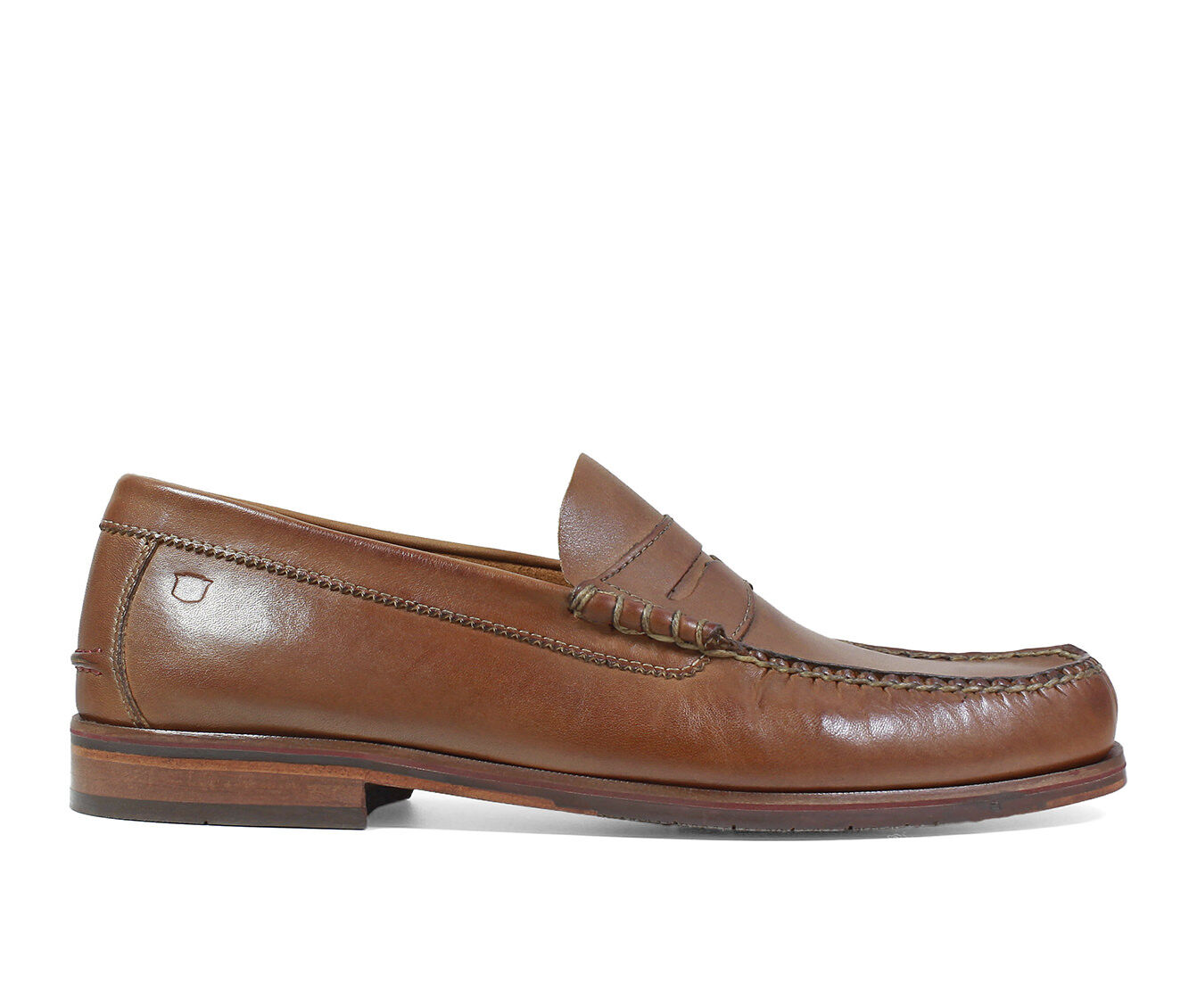 Men's Florsheim Heads Up Penny Loafer Dress Shoes Cognac