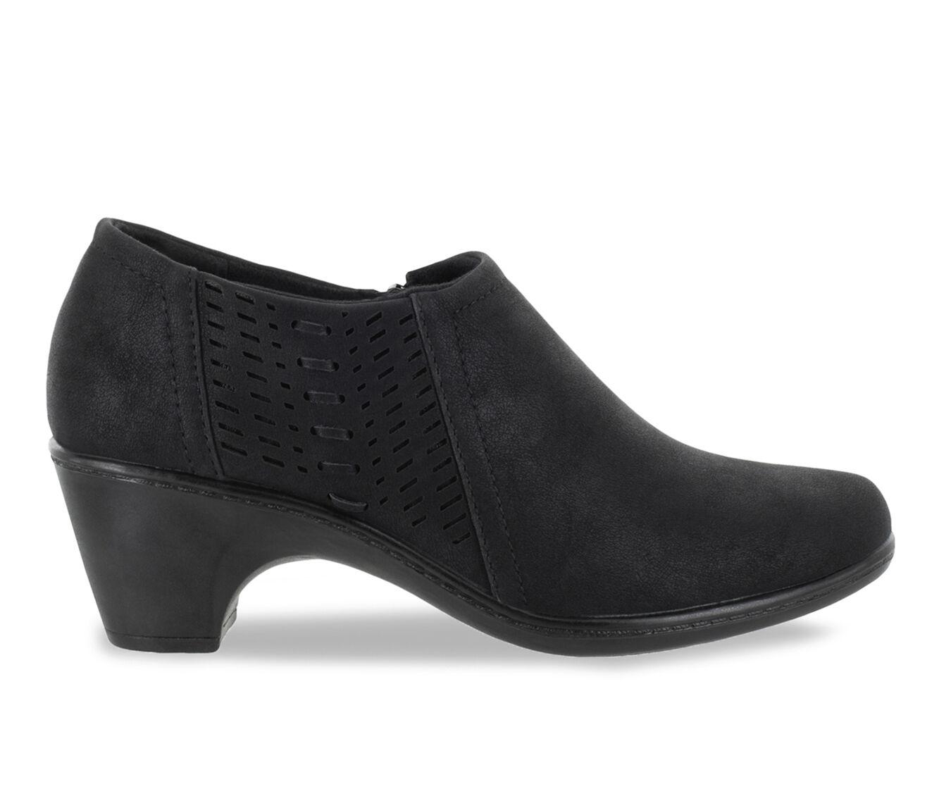 Women's Easy Street Notch Shoes Black Matte