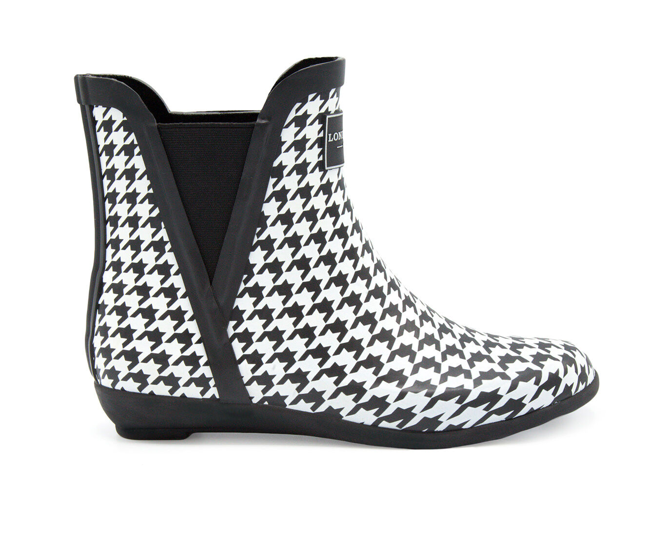 purchase export Women's London Fog Piccadilly Rain Boots Houndstooth