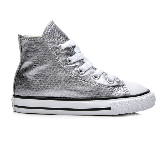 Girls' Converse Infant Chuck Taylor Hi Metallic Sneakers