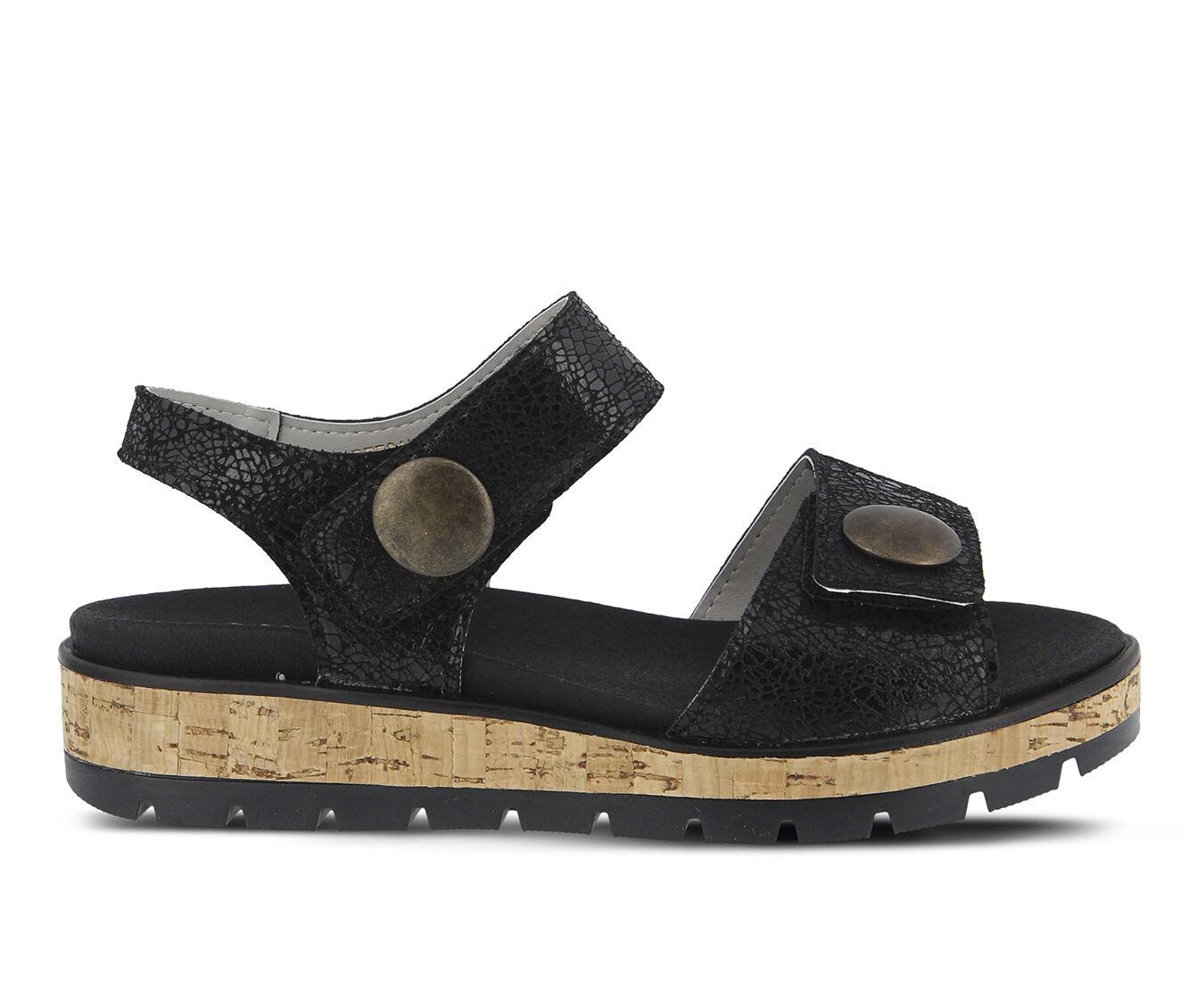 Women's SPRING STEP Reesalie Sandals Black