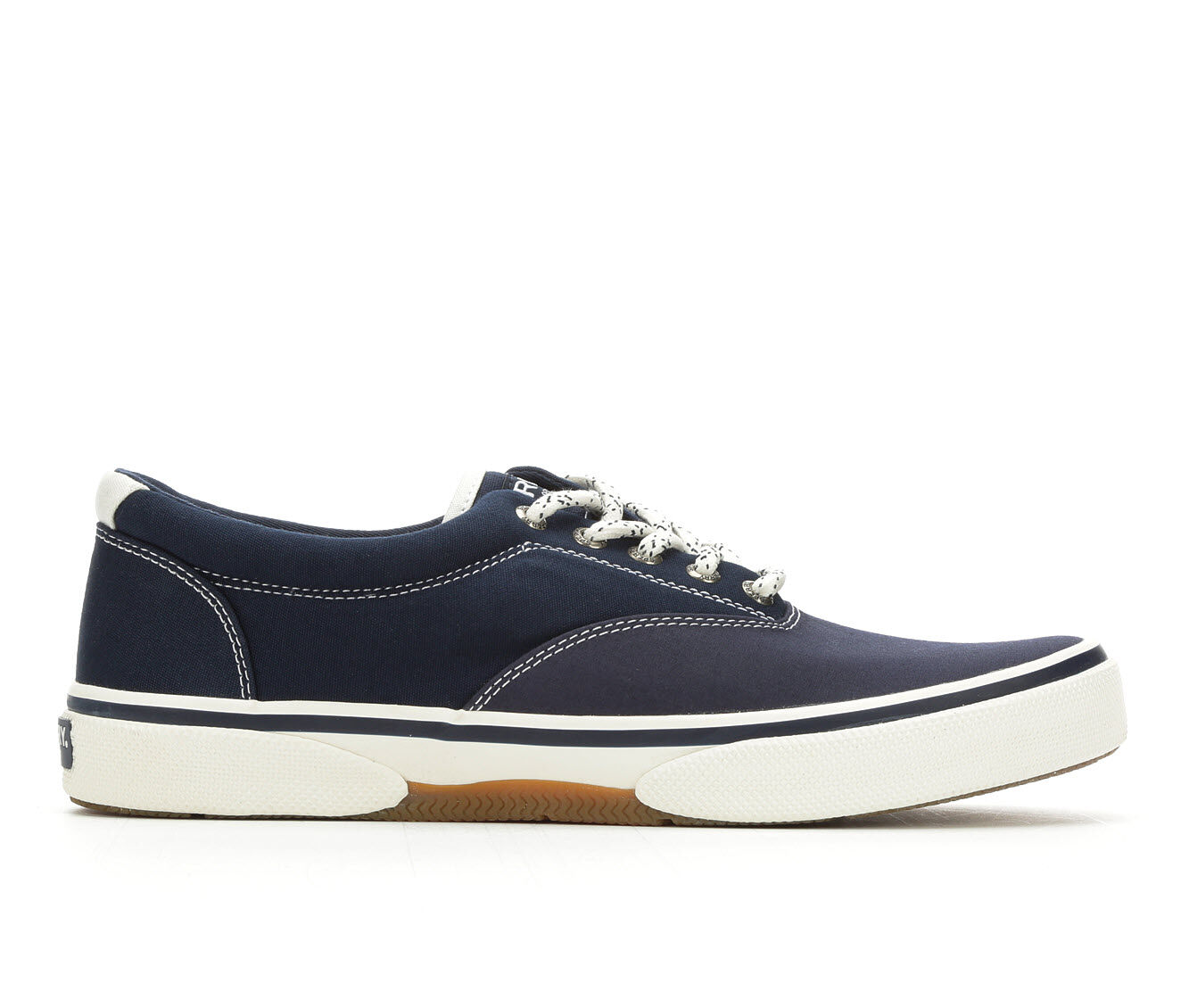 Men's Sperry Halyard Laceless Casual Shoes Navy Nautical
