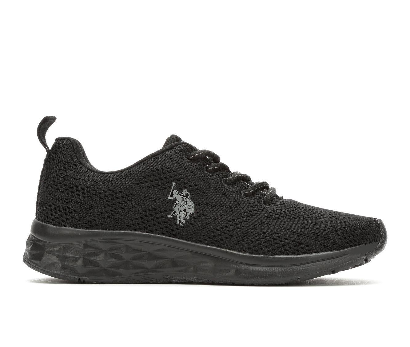 Women's US Polo Assn Anita Sneakers Blk/Dk Gry/Blk