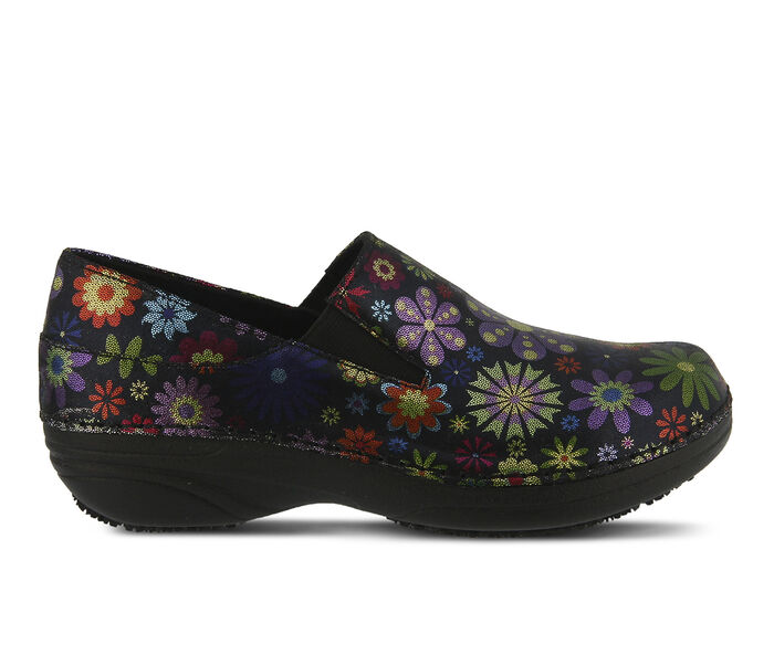 Women's SPRING STEP Manila Flower Safety Shoes