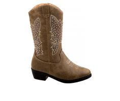 Girls' Kensie Girl Little Kid & Big Kid Rhinestone Zip-Up Western Boots