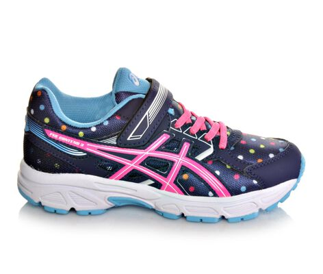 Girls' Asics Pre Contend 3 11-3 Running Shoes