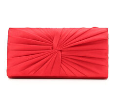 Four Seasons Handbags Satin Clutch