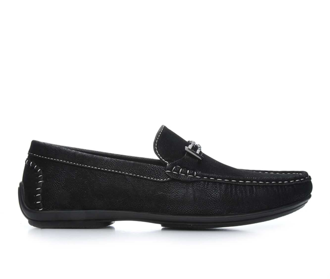 Men's Stacy Adams Percy Loafers Black