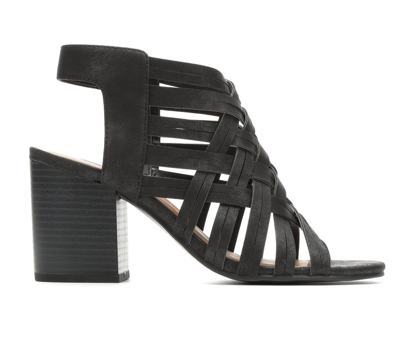 100% quality materials Women's Jellypop Aniyah Strappy Heeled Sandals Black