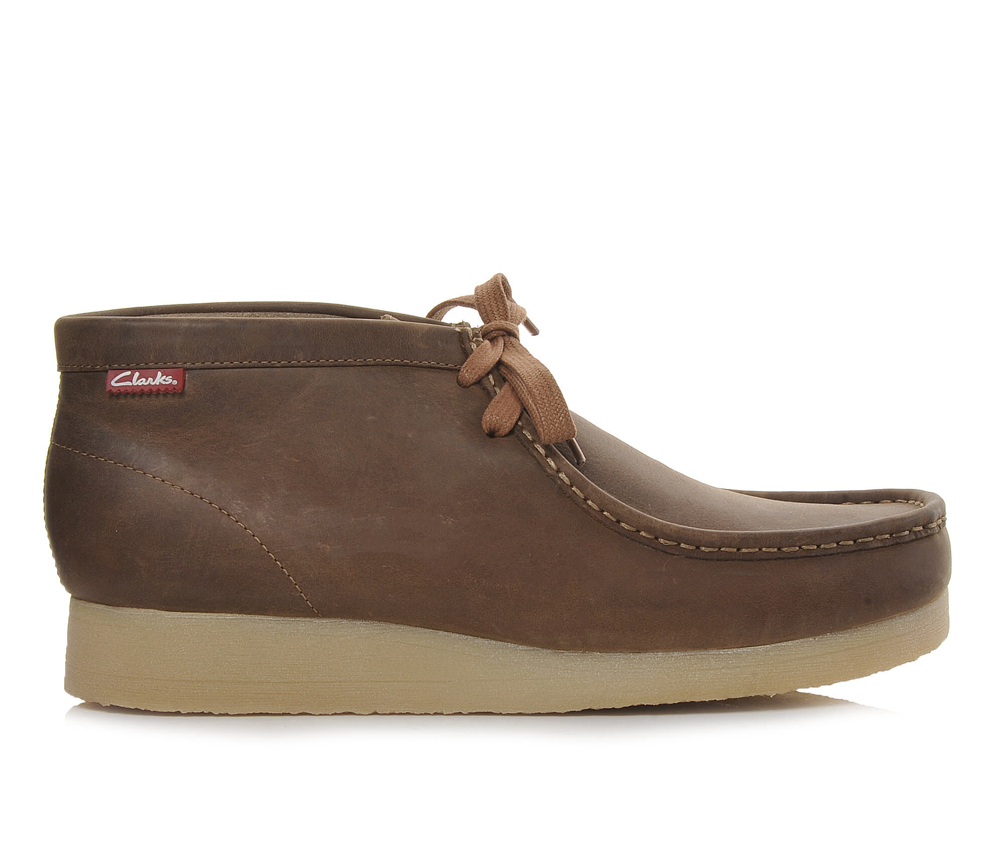 Men's Clarks Stinson Hi Boots Beeswax