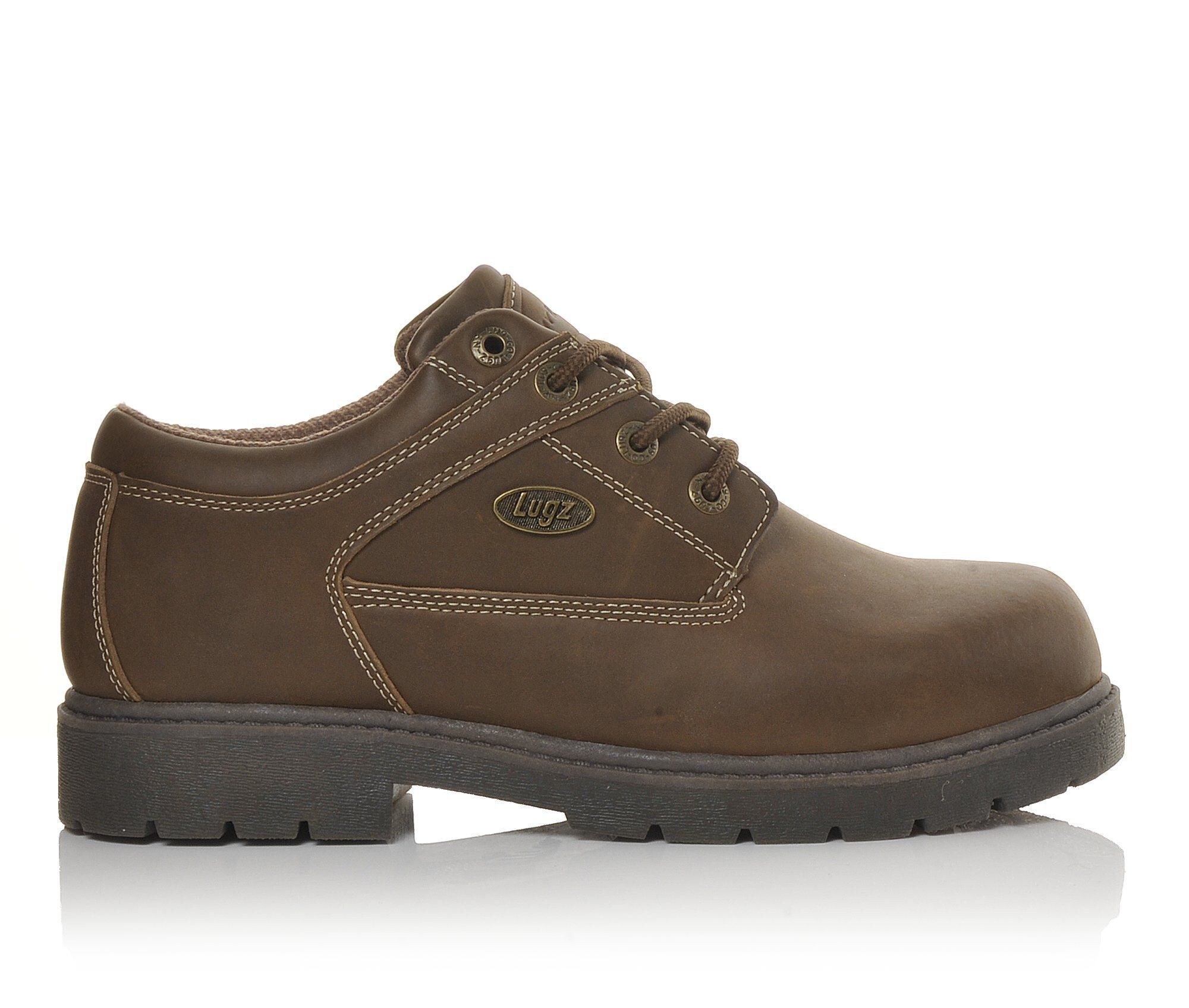 Men's Lugz Savoy Slip Resistant Safety Shoes Brown