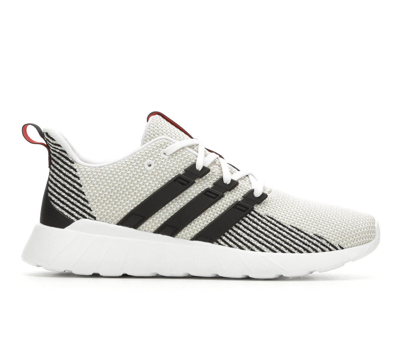 affordable Men's Adidas Questar Flow Running Shoes Wht/Blk/Wht