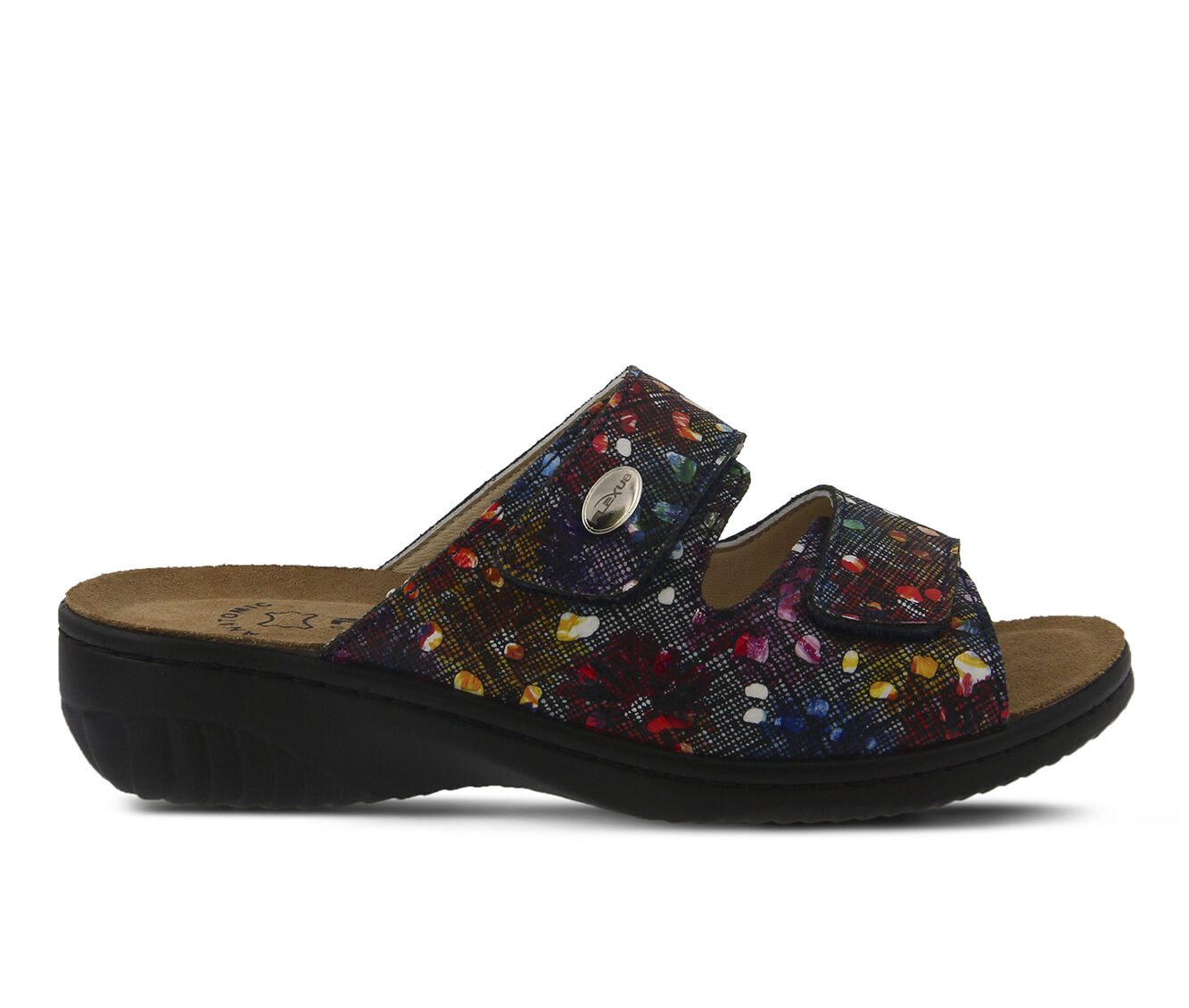 Women's FLEXUS Bellasa Sandals Black Multi