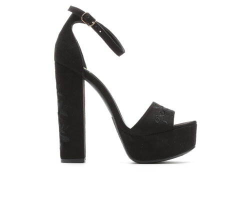 Women's Delicious Lexine Platform Heeled Sandals