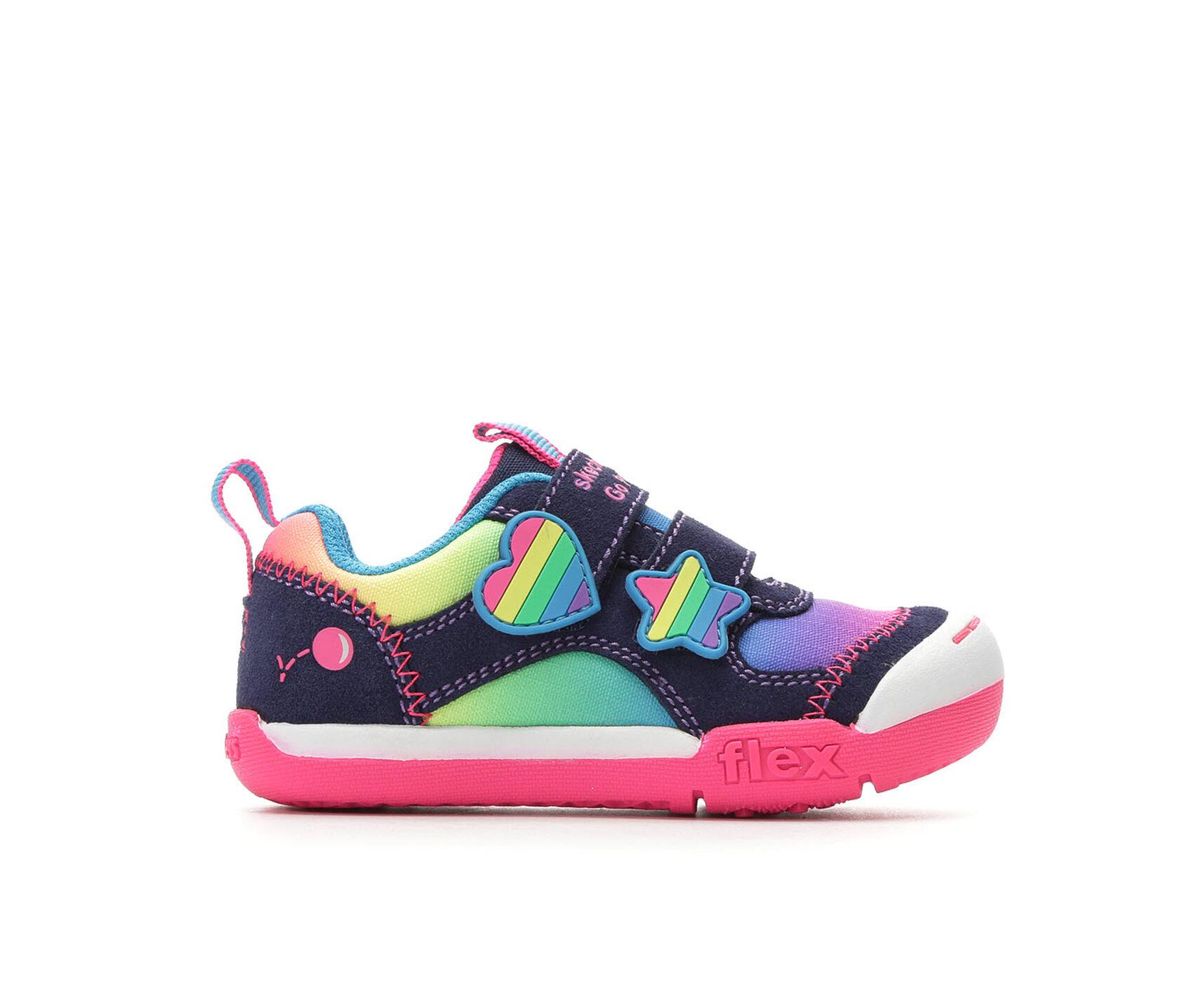 91af3e1b0f019 Girls' Skechers Toddler & Little Kid Flex Play Sneakers | Shoe Carnival