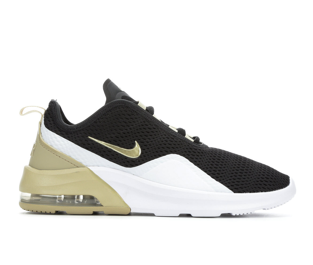 Women's Nike Air Max Motion 2 Sneakers Black/Gold/Wht