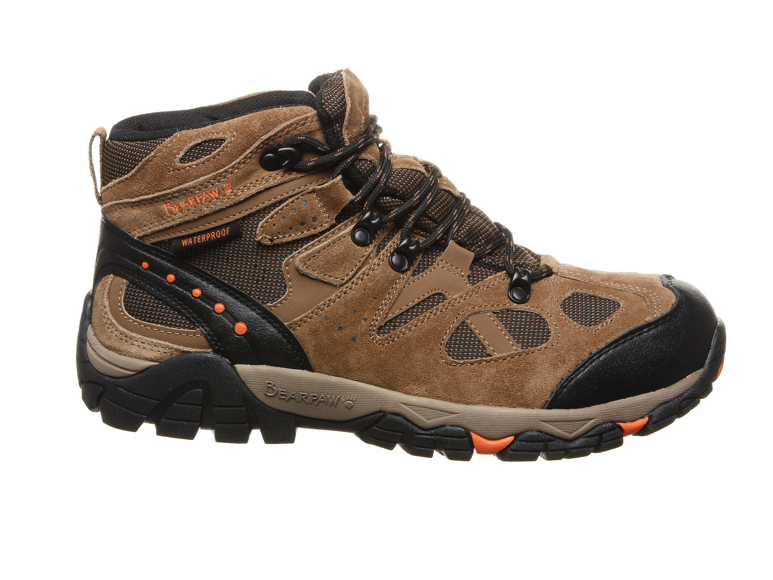 Men's Bearpaw Brock Hiking Boots Hickory