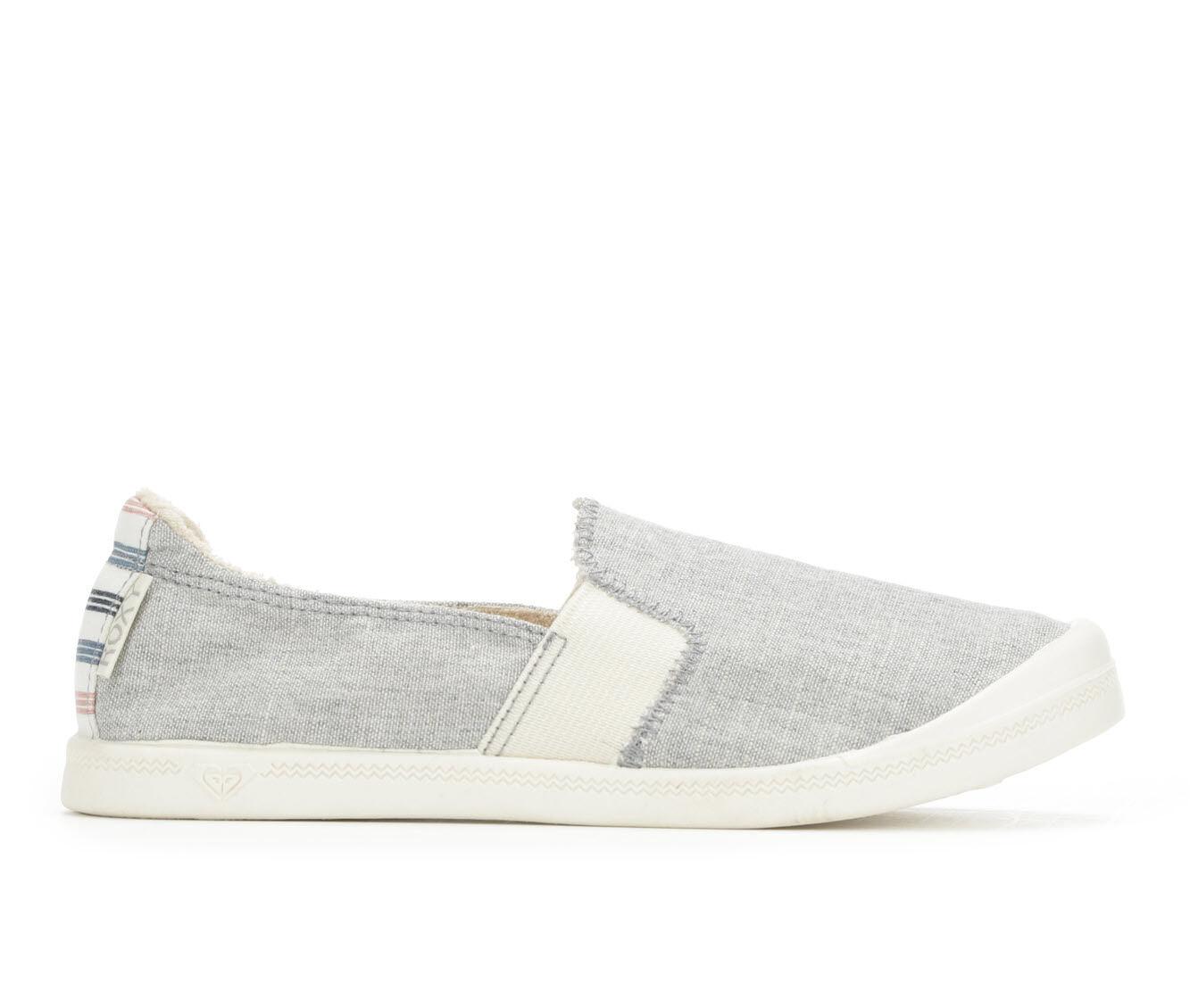 Women's Roxy Palisades Slip-On Sneakers Grey