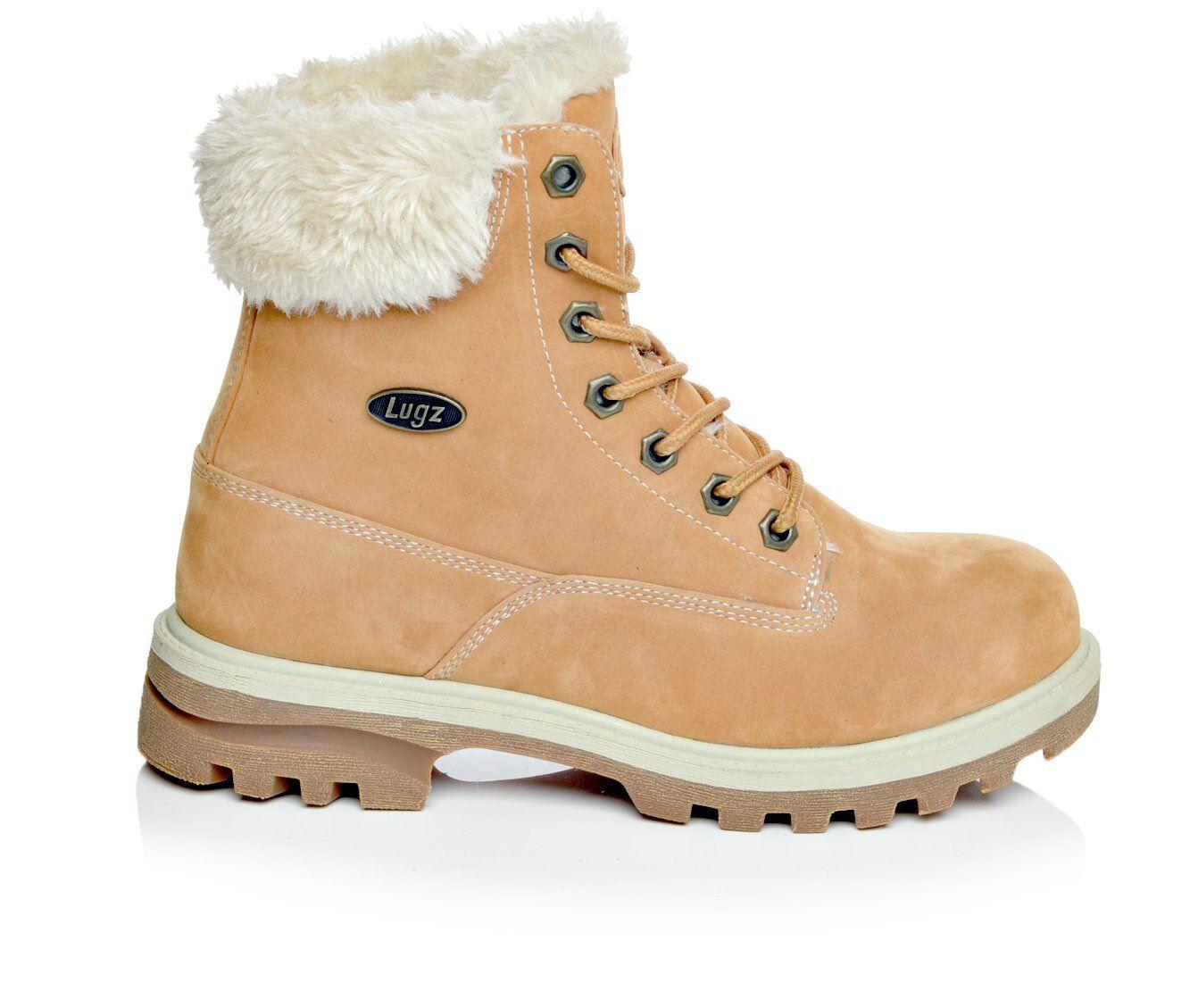 Women's Lugz Empire Hi Fur Hiking Boots Golden Wheat