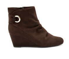 Women's London Fog Jules Wedge Booties
